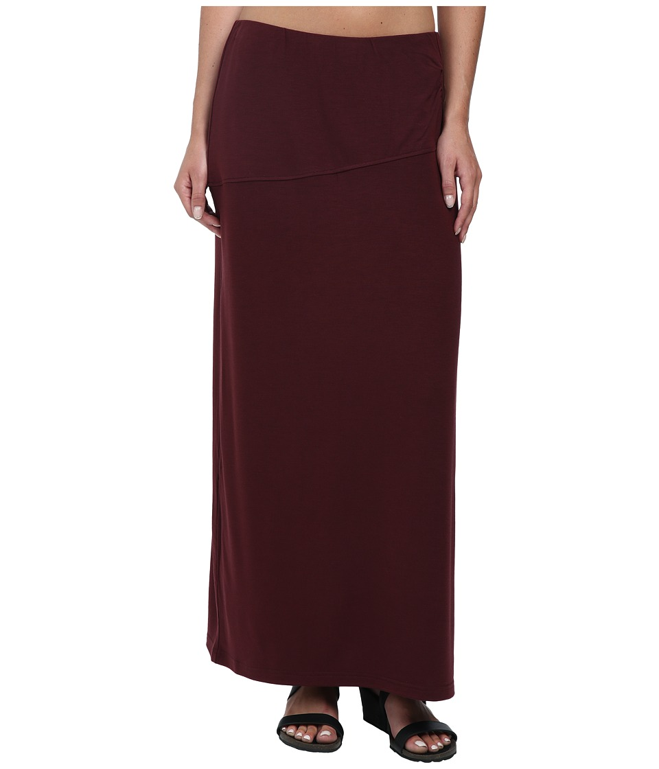 Royal Robbins - Essential Tencel Maxi Skirt (Bordeaux) Women's Skirt