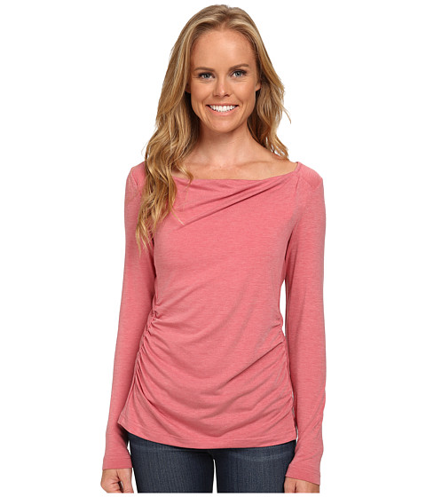 Royal Robbins - Essential Tencel Cowl Neck (Dixie Rose) Women's Long Sleeve Pullover