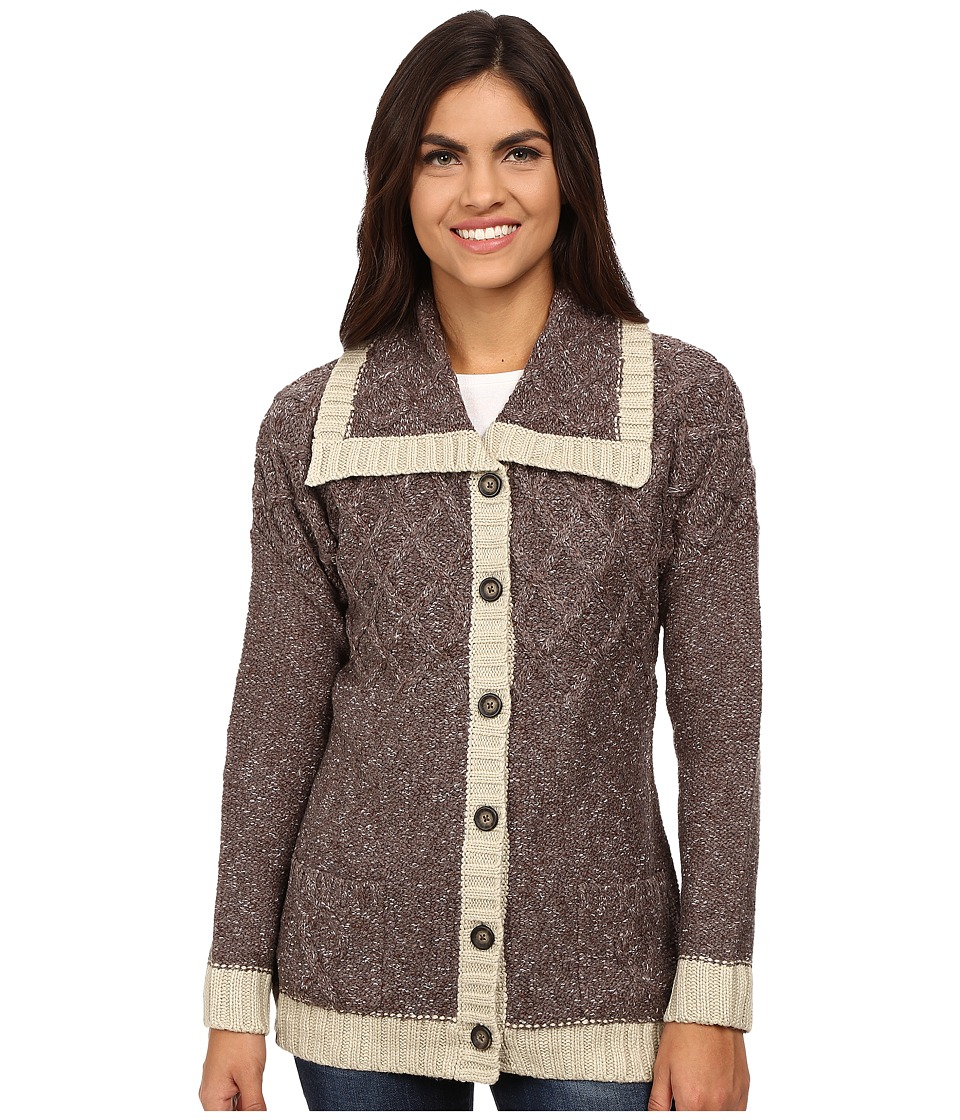 Royal Robbins - Elsa Cardi (Mole) Women's Sweater