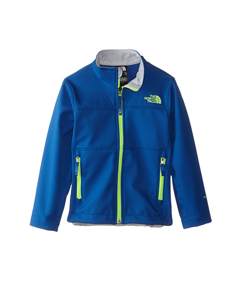 The North Face Kids - TNF Apex Bionic Jacket 15 (Little Kid/Big Kid) (Recycled Monster Blue/Graphite Grey) Boy