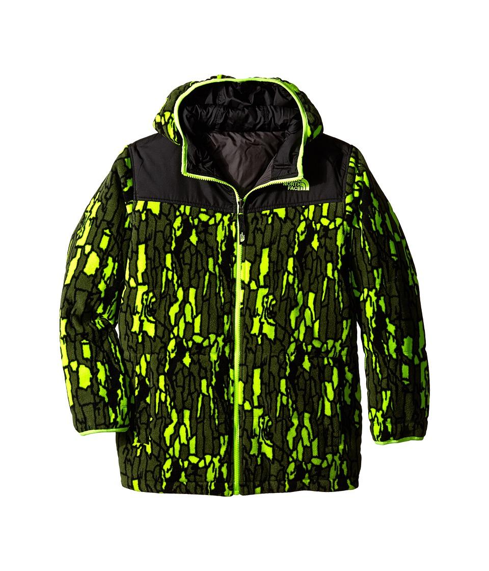 The North Face Kids - Reversible True or False Jacket (Little Kids/Big Kids) (Tree Bark Camo) Boy's Coat
