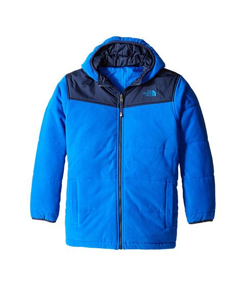 The North Face Kids - Reversible True or False Jacket (Little Kids/Big Kids) (Monster Blue) Boy's Coat