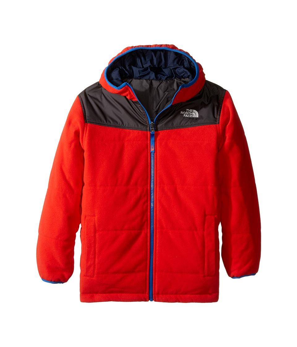 The North Face Kids - Reversible True or False Jacket (Little Kids/Big Kids) (Fiery Red) Boy's Coat