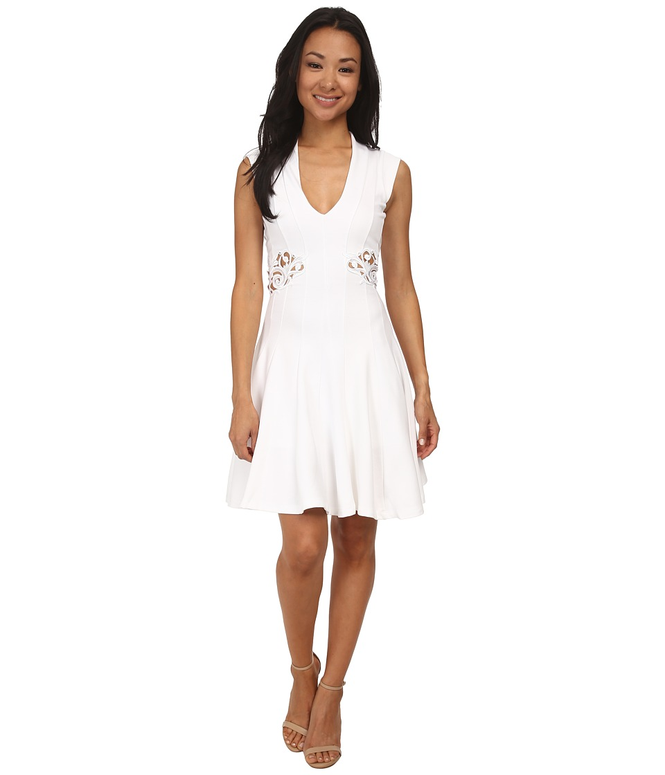 French Connection - Marie Stretch Dress 71DYJ (White) Women's Dress