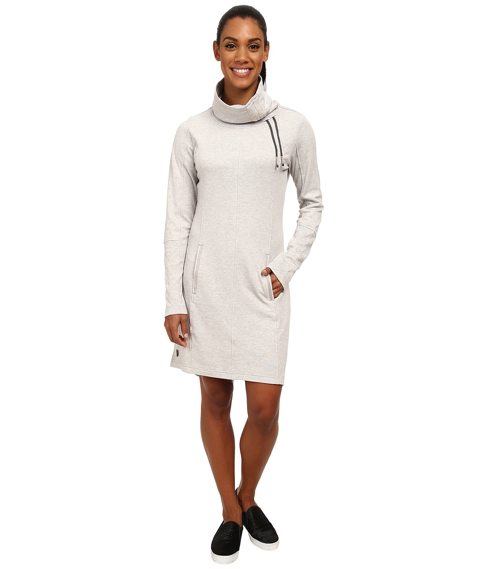 Lole - Call Me Dress (Warm Grey Heather) Women's Dress