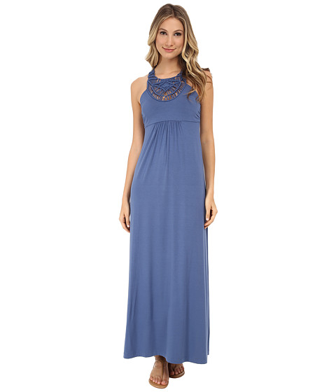 Tommy Bahama - Tambour Crochet Long Dress (Dockside Blue) Women's Dress