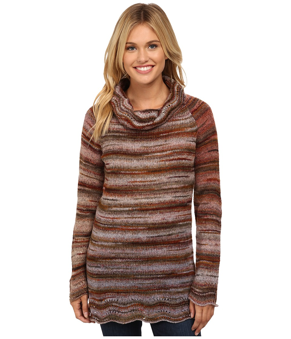 Royal Robbins Sophia Cowl Neck Sweater (Bordeaux) Women