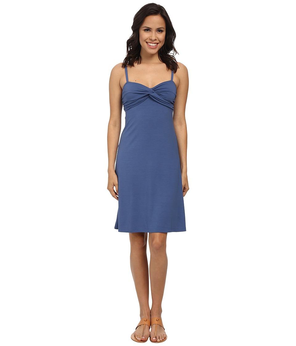 Tommy Bahama - Tambour Twist Bodice Short Dress (Dockside Blue) Women's Dress
