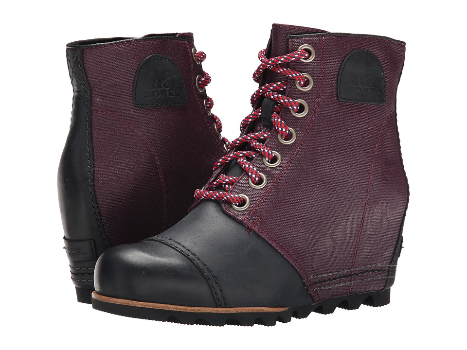 SOREL - 1964 Premium Wedge (Purple Dahlia) Women's Cold Weather Boots