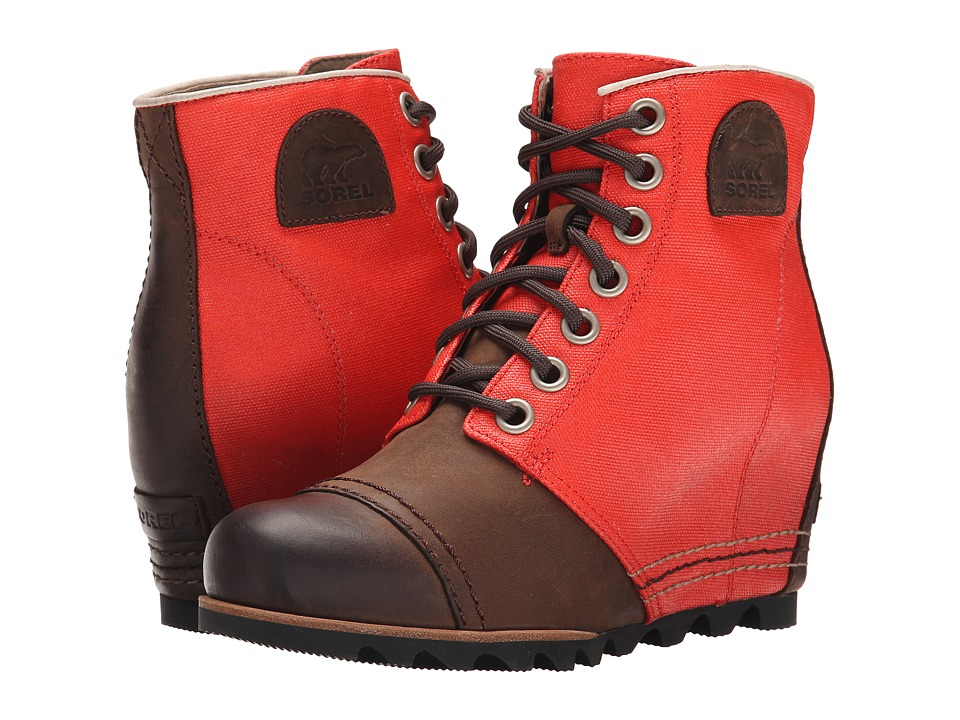 SOREL - 1964 Premium Wedge (Bonfire) Women's Cold Weather Boots