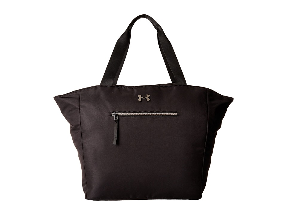 Under Armour - UA To And From Tote (Black/White/Metallic Pewter) Tote Handbags