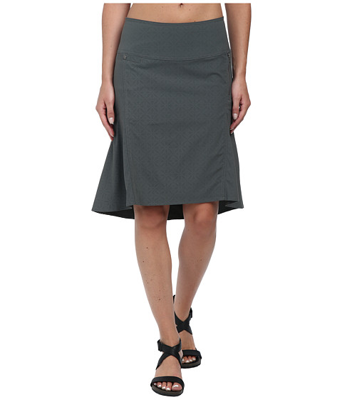 Royal Robbins - Embossed Discovery Strider Skirt (Obsidian) Women