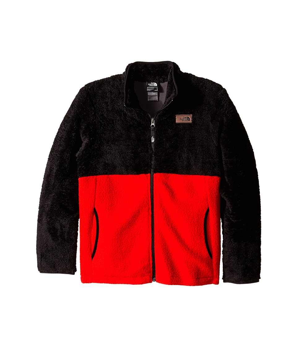 The North Face Kids - Sherparazo Jacket (Little Kids/Big Kids) (Fiery Red) Boy's Coat