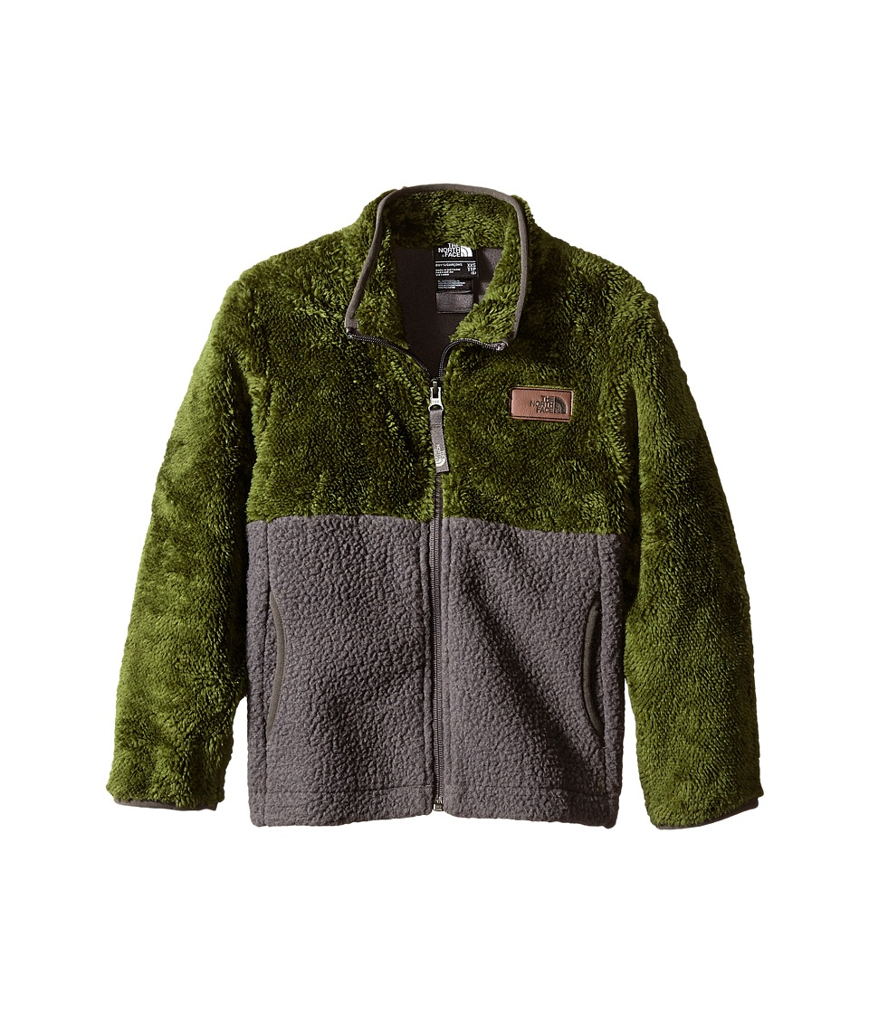 The North Face Kids - Sherparazo Jacket (Little Kids/Big Kids) (Graphite Grey/Scallion Green) Boy's Coat
