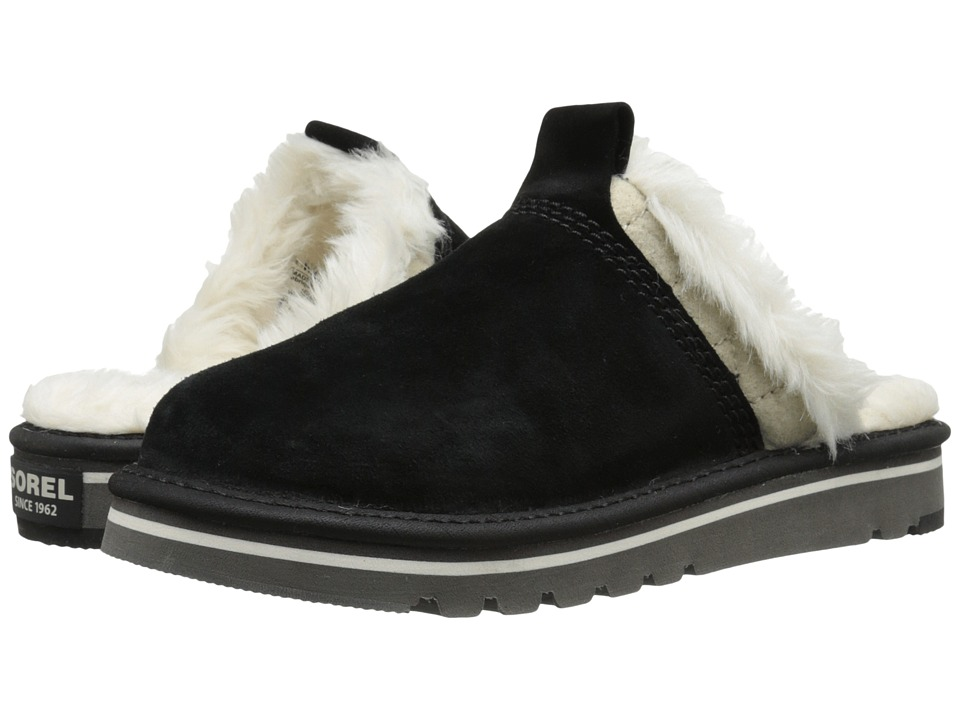 SOREL - The Newbie Slipper (Black) Women's Shoes