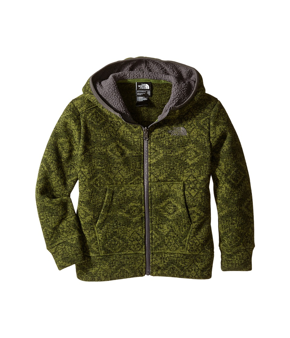 The North Face Kids - Mayar Sweater Fleece Hoodie (Little Kids/Big Kids) (Scallion Green) Boy's Sweatshirt