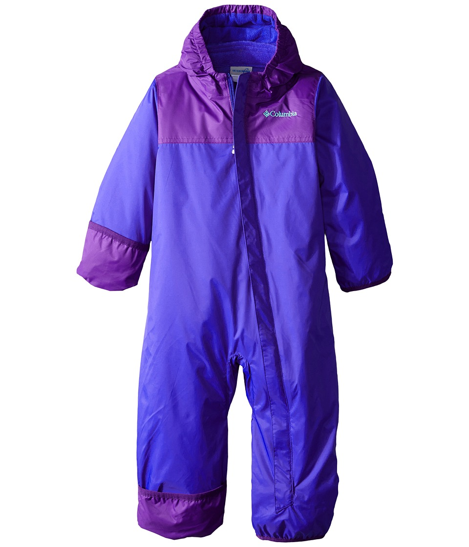 Columbia Kids - Bugababy Interchange Bunting (Infant) (Light Grape/Hyper Purple) Kid's Jumpsuit & Rompers One Piece
