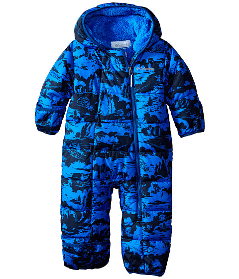 Columbia Kids - Frosty Freeze Bunting (Infant) (Hyper Blue Critter Print/Marine Blue) Kid