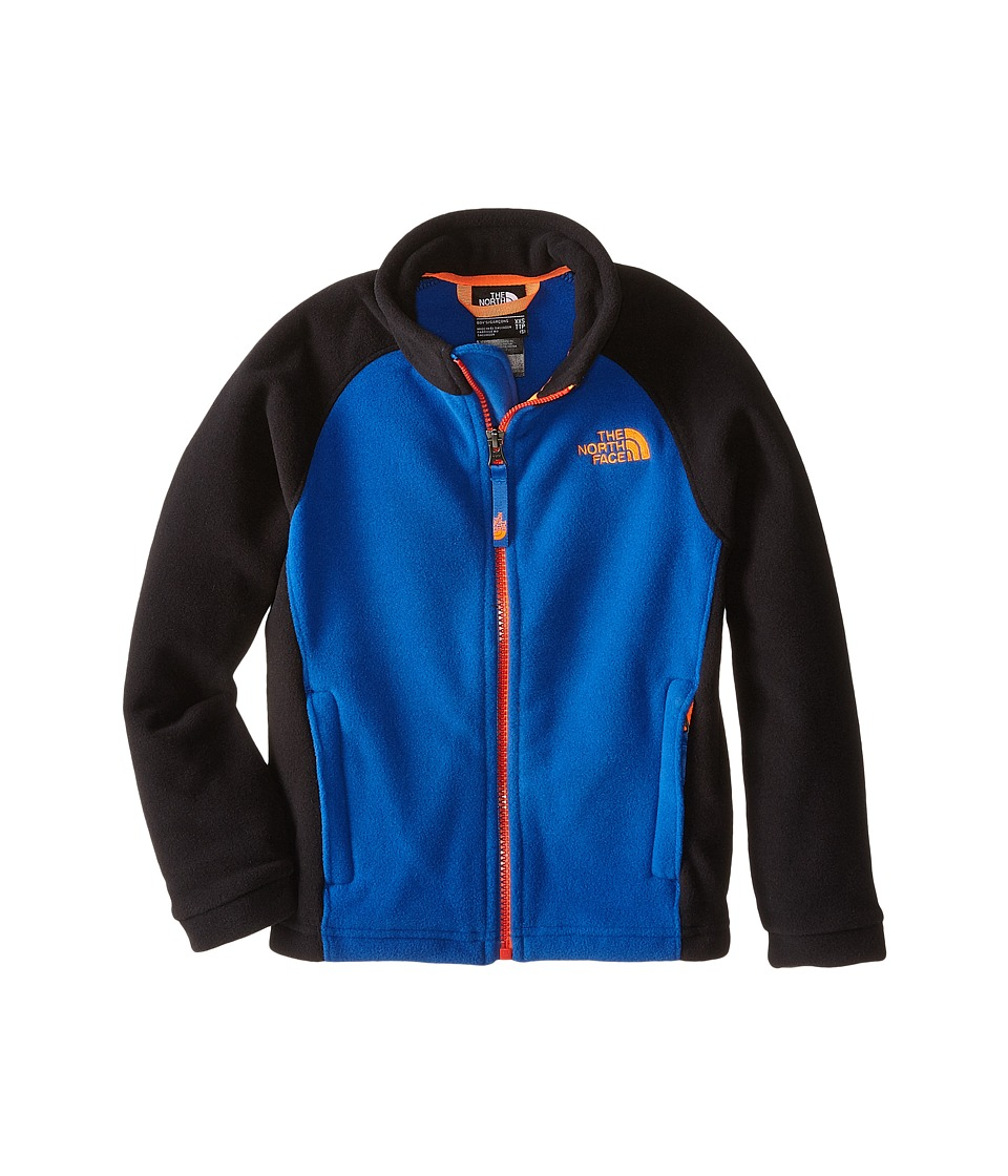 The North Face Kids - McKhumbu Jacket (Little Kids/Big Kids) (Monster Blue/Shocking Orange) Boy's Coat