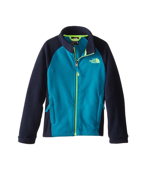 The North Face Kids - McKhumbu Jacket (Little Kids/Big Kids) (Enamel Blue) Boy's Coat