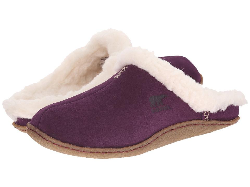 SOREL - Nakiska Slide (Purple Dahlia) Women's Slippers