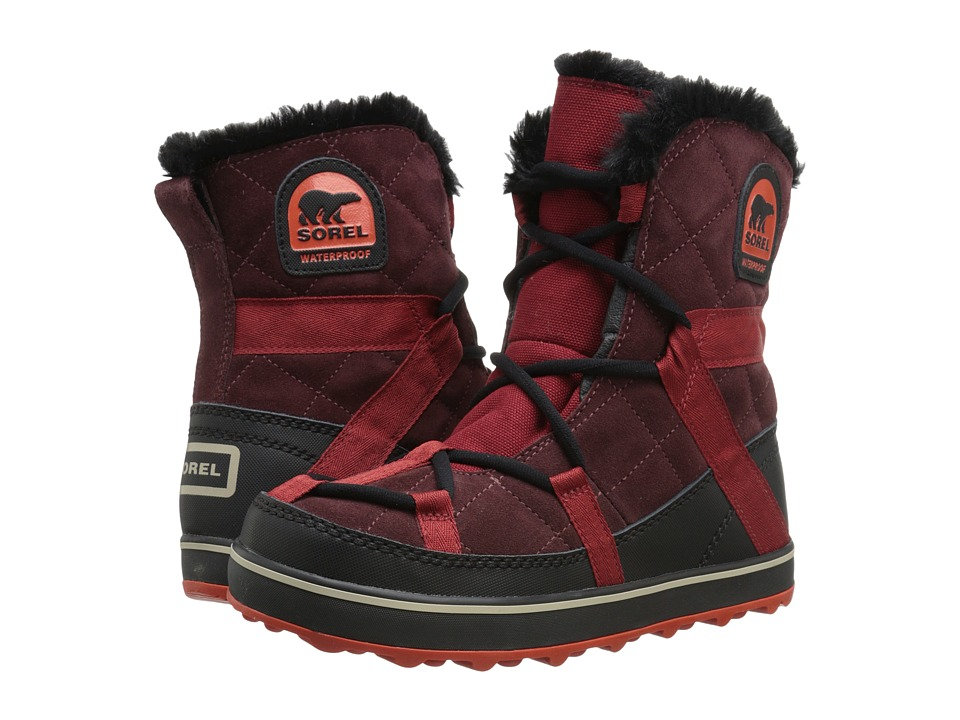 SOREL Glacy Explorer Shortie (Madder Brown) Women