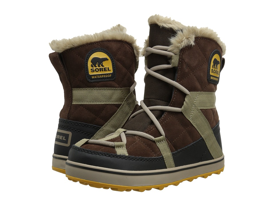 SOREL - Glacy Explorer Shortie (Tobacco) Women
