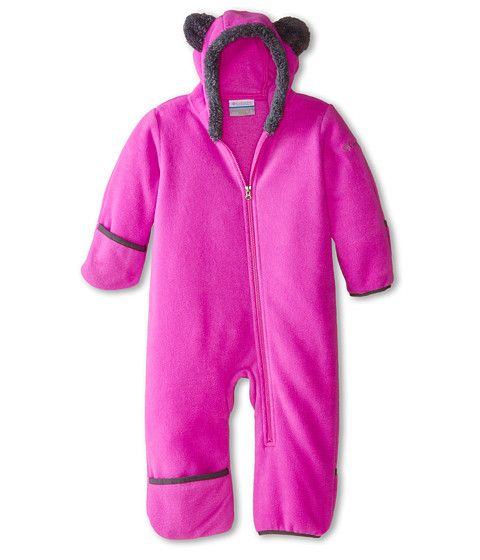 Columbia Kids - Tiny Bear II Bunting (Infant) (Foxglove) Kid's Jumpsuit & Rompers One Piece