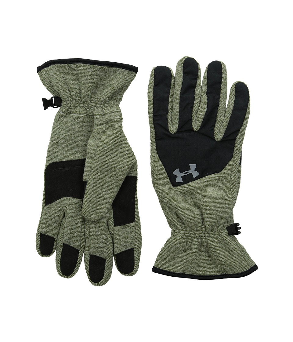 Under Armour - UA Survival Fleece Glove (Greenhead/Black/Steel) Extreme Cold Weather Gloves