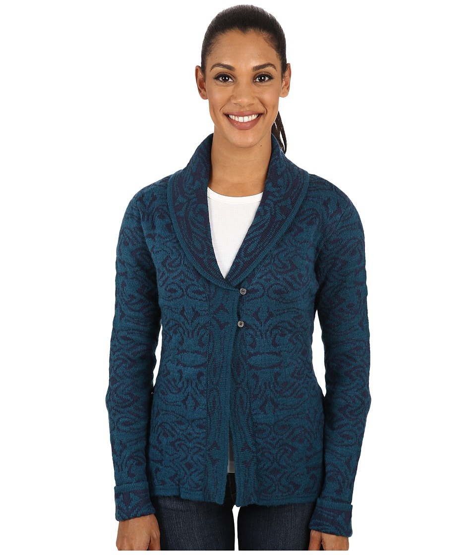 Royal Robbins - Autumn Rose Cardigan (Deep Blue) Women's Sweater