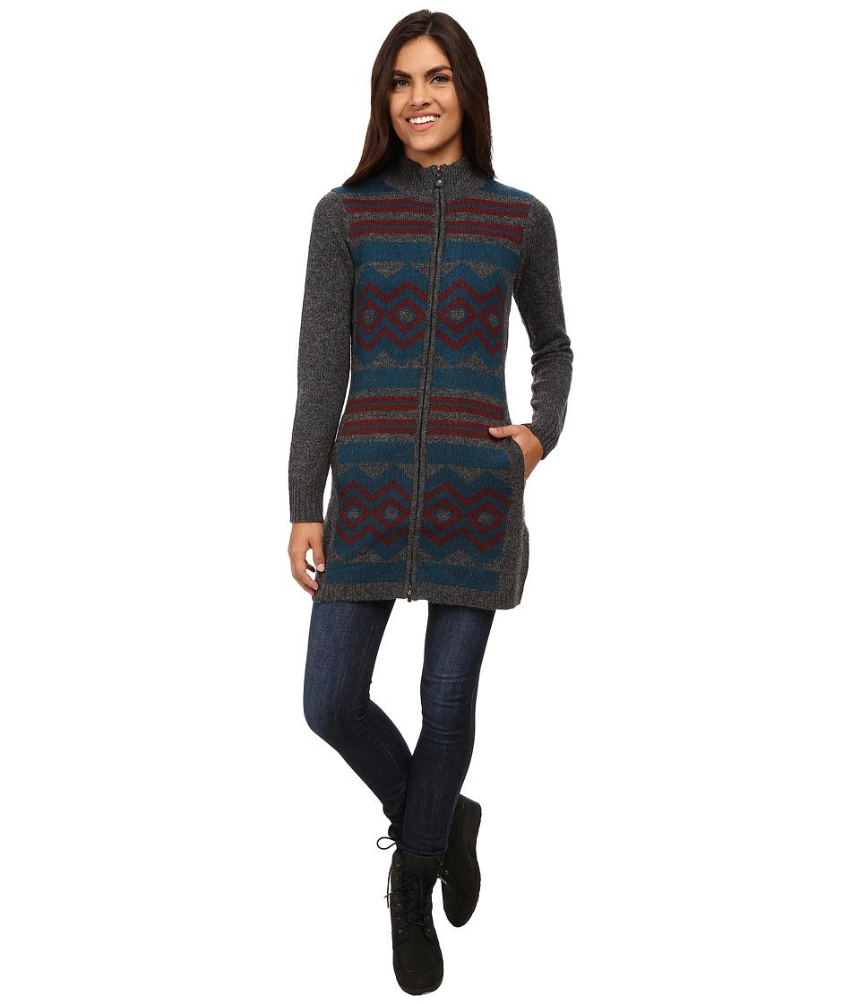 Royal Robbins - Maya Zip Cardigan (Pewter) Women's Sweater