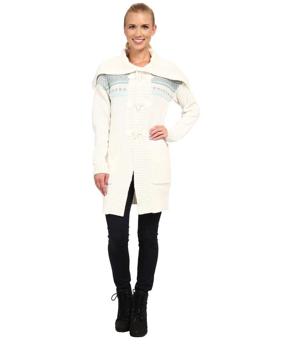 Lole - Sevilla Cardigan (White) Women's Sweater
