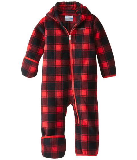Columbia Kids - Snowtop II Bunting (Infant) (Bright Red Tartan/Lumberjack) Kid