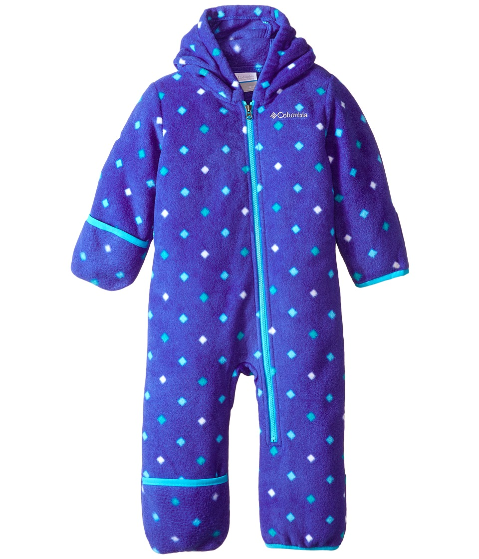 Columbia Kids - Snowtop II Bunting (Infant) (Light Grape Diamond Dot) Kid's Jumpsuit & Rompers One Piece