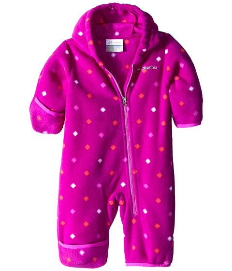 Columbia Kids - Snowtop II Bunting (Infant) (Bright Plum Diamond Dot) Kid