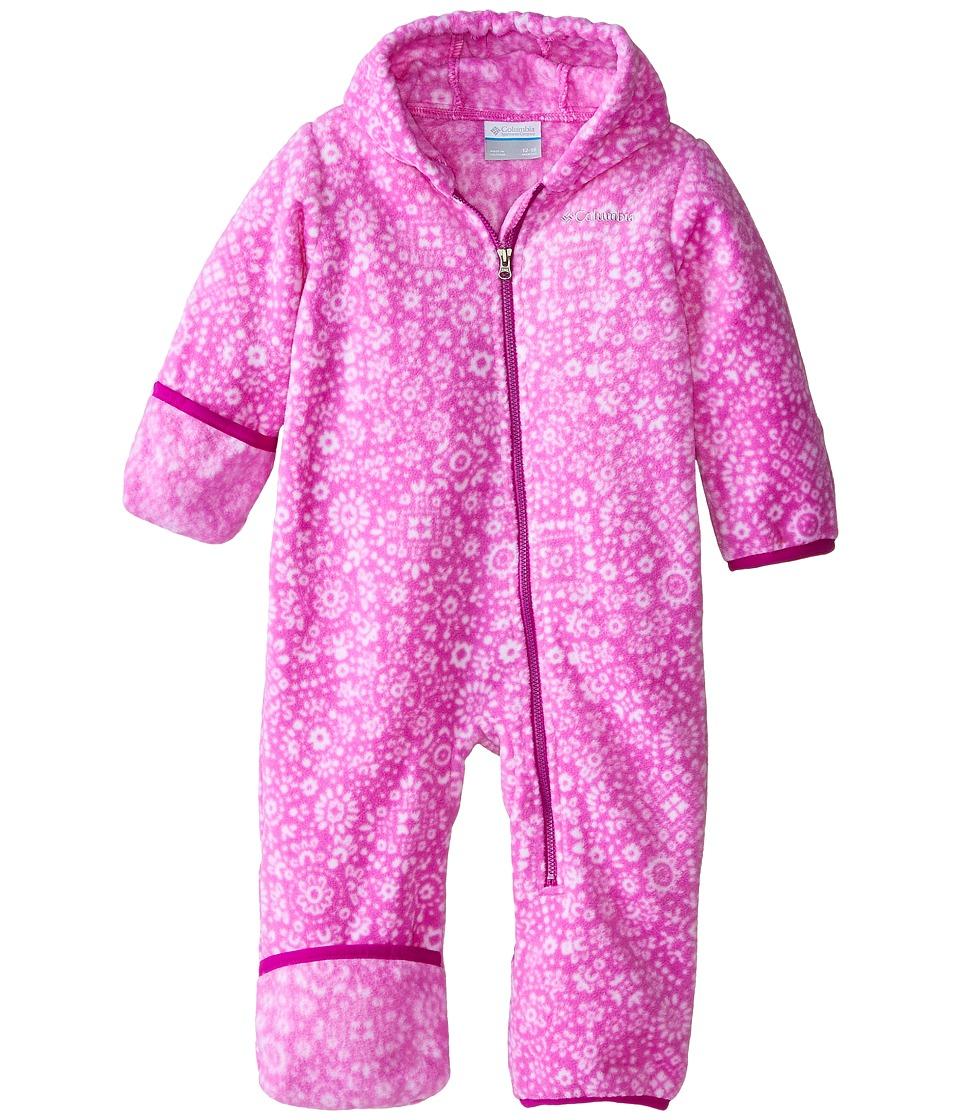 Columbia Kids - Snowtop II Bunting (Infant) (Foxglove Paisley) Kid's Jumpsuit & Rompers One Piece