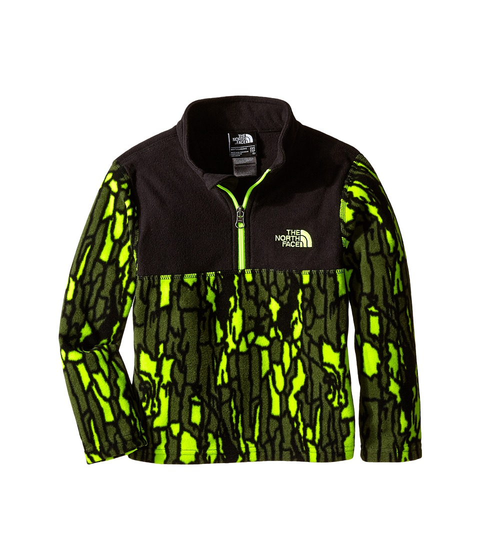 The North Face Kids - Glacier 1/4 Zip (Little Kids/Big Kids) (Tree Bark Camo) Boy's Long Sleeve Pullover