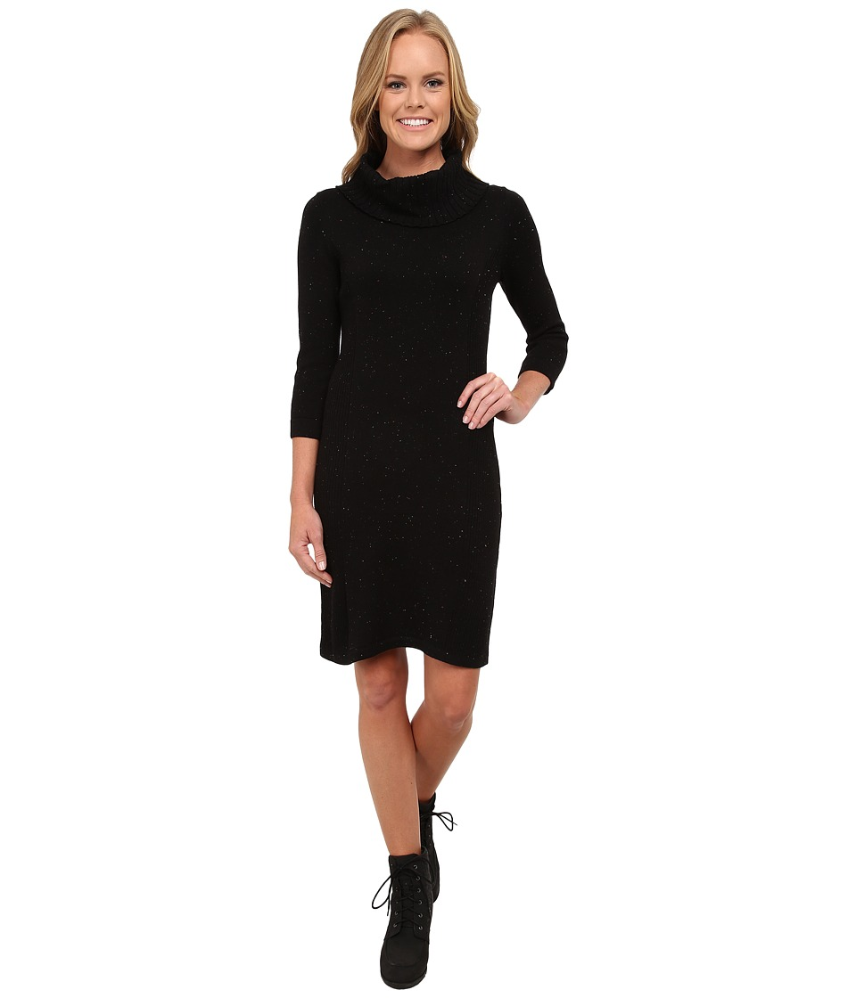 Royal Robbins - Galaxy Cowl Neck Dress (Jet Black) Women's Dress