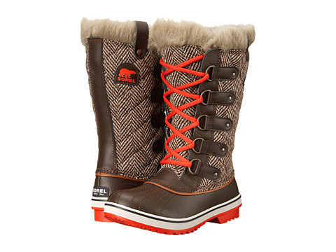 SOREL - Tofino Cate (Cordovan Chevron) Women's Cold Weather Boots
