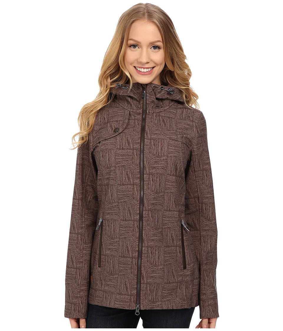 Lole - Stunning Jacket (Hot Coco Corn Field) Women's Coat