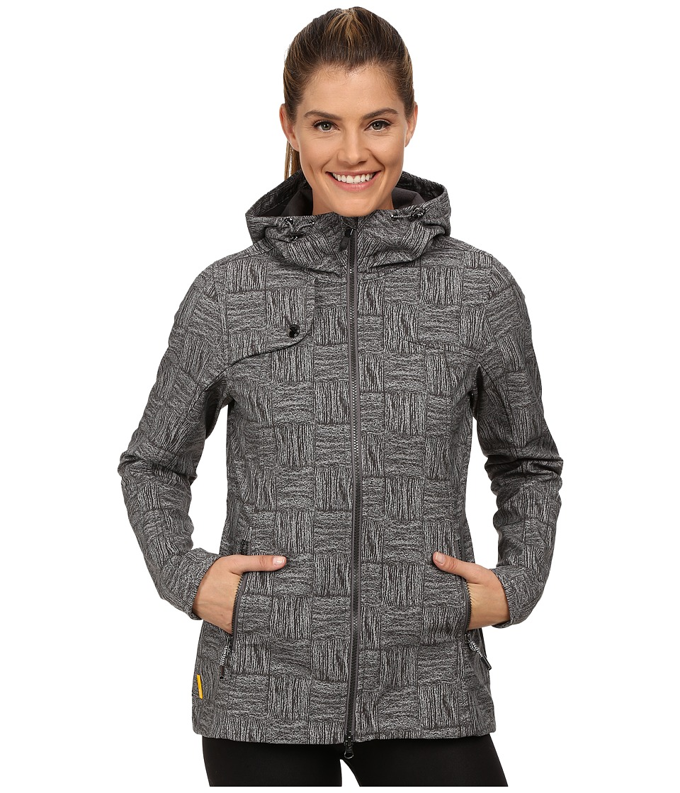 Lole - Stunning Jacket (Dark Charcoal Corn Field) Women's Coat