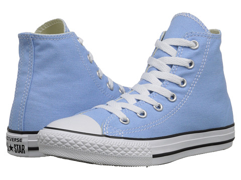Converse Kids - Chuck Taylor All Star Hi (Little Kid) (Blue Sky) Kids Shoes