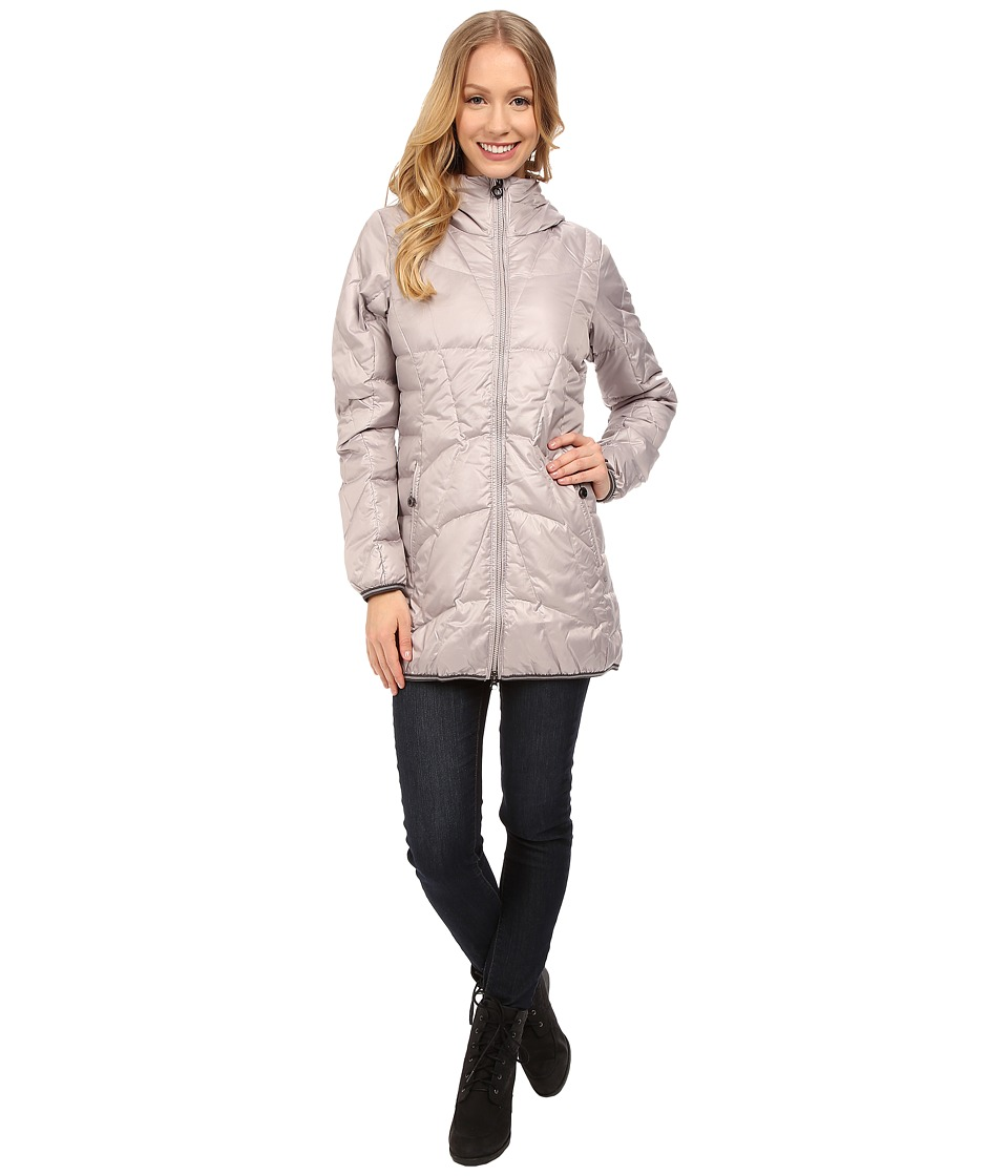 Lole - Gisele Jacket (Warm Grey) Women's Coat