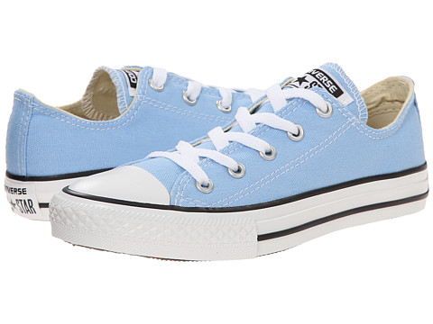 Converse Kids - Chuck Taylor All Star Ox (Little Kid) (Blue Sky) Kids Shoes