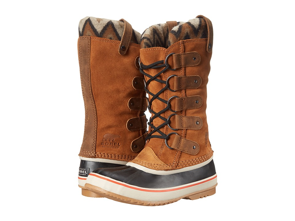SOREL - Joan Of Arctic Knit II (Elk) Women's Cold Weather Boots