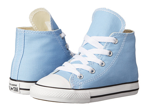 Converse Kids - Chuck Taylor All Star Hi (Infant/Toddler) (Blue Sky) Kids Shoes