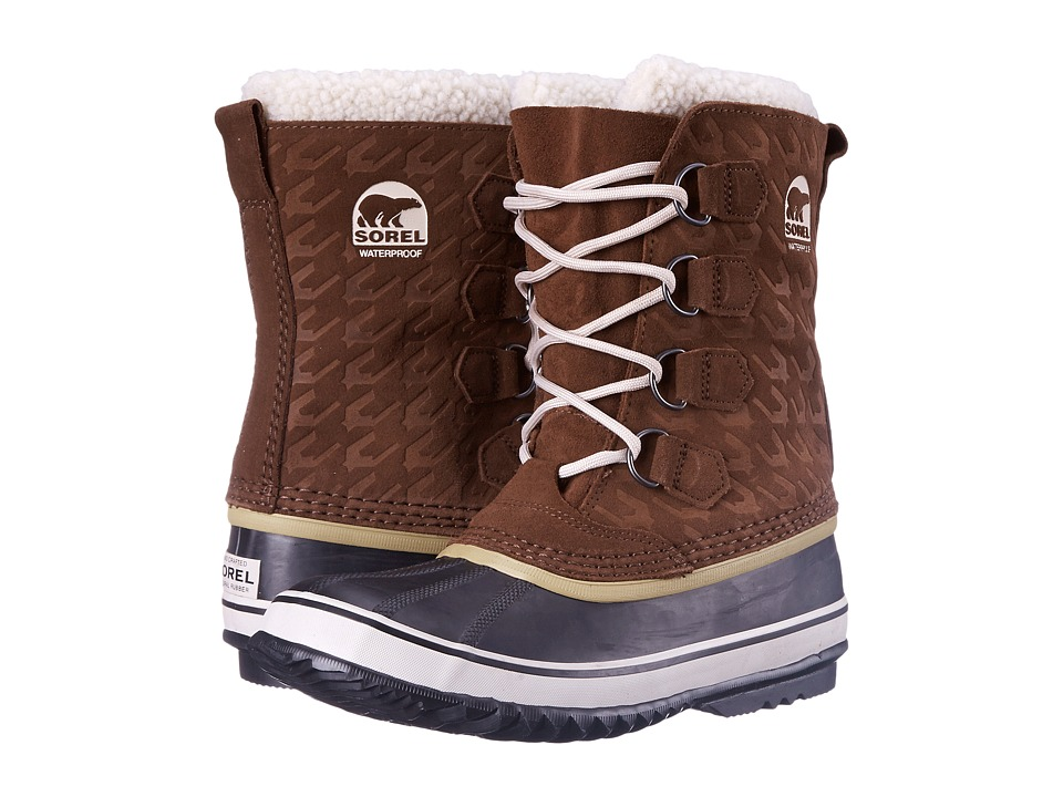 SOREL - 1964 Pac Graphic 15 (Tobacco/Black) Women's Cold Weather Boots