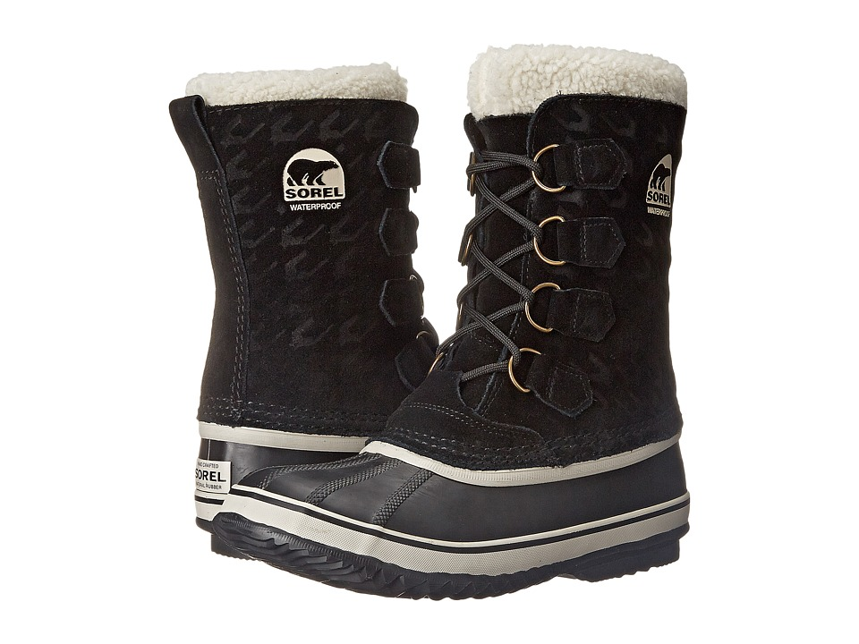 SOREL - 1964 Pac Graphic 15 (Black/Natural) Women's Cold Weather Boots
