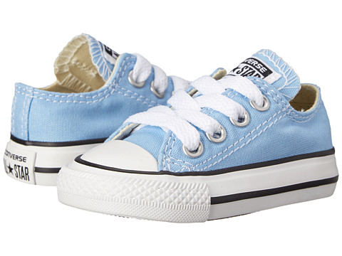 Converse Kids - Chuck Taylor All Star Ox (Infant/Toddler) (Blue Sky) Kids Shoes