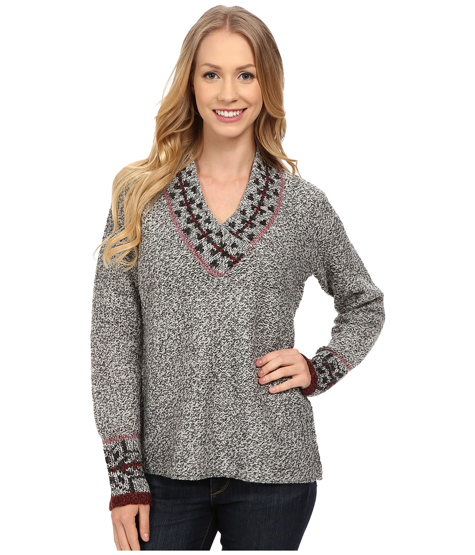 Royal Robbins - Mystic Long Sleeve Pullover (Charcoal) Women's Sweater